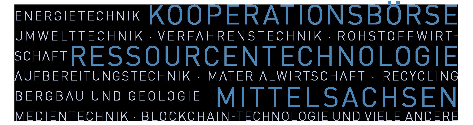 RESTEC Kooperationsbörse Ressourcentechnologie Mittelsachsen